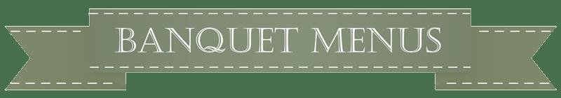 banquet-menus